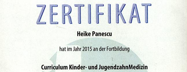 zertifikat-kinderzahnheilkunde